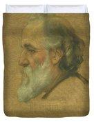 Title Sketch Of Alphonse Legros Duvet Cover