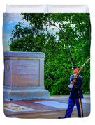 Tomb Of The Unknown Soldier Painting Duvet Cover