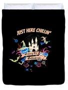 tshirt Just Here Chillin invert Duvet Cover