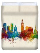 Utrecht The Netherlands Skyline Duvet Cover
