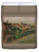 View Of Saint Valery Sur Somme  Duvet Cover