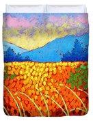 Violet Hills  Duvet Cover