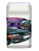 Volvo 480 Turbo Duvet Cover