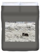 W18 Duvet Cover by Joshua Able's Wildlife