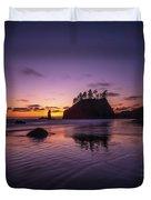 Washington Coast Last Light Duvet Cover