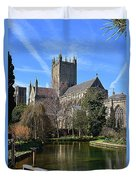Wells Cathedral Duvet Cover