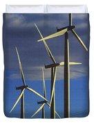 Wind Power Art  Duvet Cover
