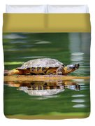 Wood Turtle Duvet Cover