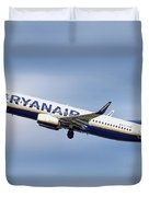 Ryanair Boeing 737-8as Duvet Cover