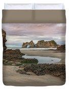 Wharariki Beach - New Zealand Duvet Cover