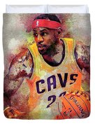 Lebron Raymone James Duvet Cover