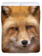 Russian Red Fox Duvet Cover