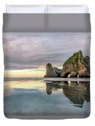 Wharariki Beach - New Zealand Duvet Cover