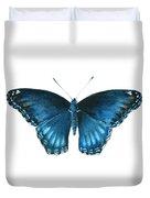 113 Brenton Blue Butterfly Duvet Cover