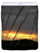 Photograph Of A Sunset Duvet Cover