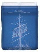 1885 Sails Patent Duvet Cover