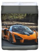 #mclaren #senna #print Duvet Cover by ItzKirb Photography