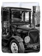 1925 Ford Model T Delivery Truck Hot Rod Duvet Cover