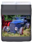 1932 Ford Highboy Hot Rod Roadster Duvet Cover