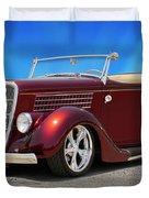 1935 Ford Roadster Duvet Cover