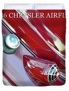 1936 Chrysler Airflow B Duvet Cover