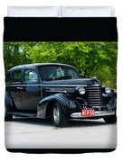 1937 Oldsmobile F 37 Duvet Cover