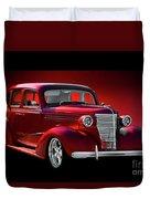 1938 Chevrolet Master Deluxe Sedan Duvet Cover