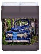 1951 Mercury Pickup Truck Duvet Cover