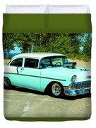 1956 Chevrolet Custom Model 2010  Duvet Cover