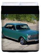 1963 Chevrolet Nova Ss Duvet Cover