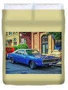1970 Dodge Charger R/t Duvet Cover