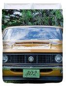 1970 Ford Torino Gt Duvet Cover