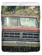 1971 Ford Pickup Truck For Sale In Utah Duvet Cover