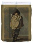 A Standing Man  Duvet Cover