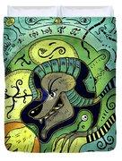 Anubis Duvet Cover