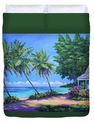 At The Island's End Duvet Cover
