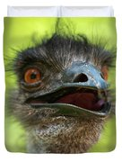 Australian Emu Outdoors Duvet Cover