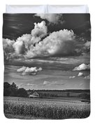 Beautiful Iowa Farm Scene Duvet Cover