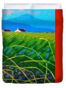 Blue Hills Duvet Cover