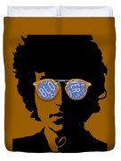 Bob Dylan Blowin In The Wind Duvet Cover