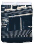City News - Mansfield, Ohio Duvet Cover