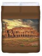 Colosseo, Rome Duvet Cover
