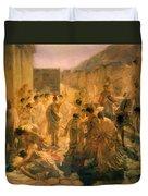Death Of Virginia Study  Duvet Cover