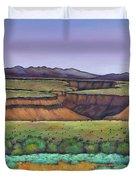 Desert Gorge Duvet Cover