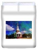 First Baptist Church Myrtle Beach S C Duvet Cover
