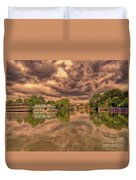 Further Down The River Duvet Cover