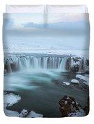 Godafoss - Iceland Duvet Cover