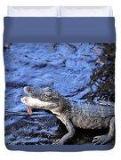 Little Gator Duvet Cover