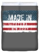 Made In Totowa, New Jersey Duvet Cover