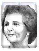 Margaret Thatcher Duvet Cover